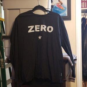 Mens size XL Smashing pumpkins Zero tee shirt